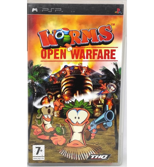 Worms : Open Warfare Jeu PSP  avec Notice Games And Toys