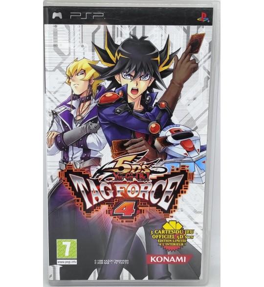 Yu-Gi-Oh! 5D's Tag Force 4 Jeu PSP  avec Notice Sans Cartes Games And Toys