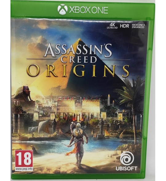 ASSASSIN'S CREED ORIGINS Jeu Xbox One sans Notice  Games and Toys