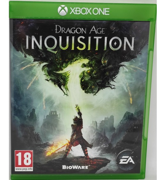 DRAGON AGE INQUISITION Jeu Xbox One sans Notice  Games and Toys