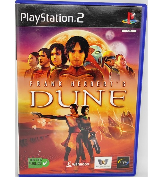 Dune Jeu Playstation 2 PS2 sans Notice  Games and Toys