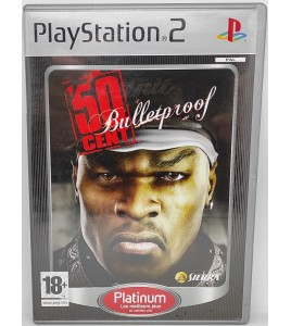 50 cent bulletproof Jeu Playstation 2 PS2 avec Notice Games And Toys