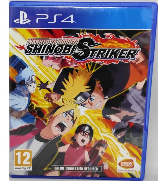 Naruto to Boruto Shinobi Striker Jeu Playstation 4 PS4 sans Notice