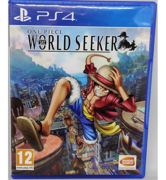 One Piece: World Seeker Jeu Playstation 4 PS4 sans Notice  Games and Toys