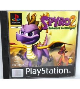 Spyro 2 Jeu Playstation 1 PS1 avec Notice Games And Toys