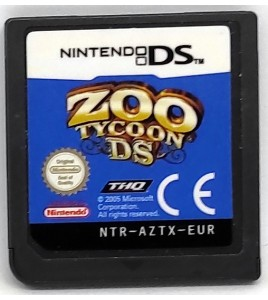 Zoo Tycoon Jeu Nintendo DS & 3DS sans Notice Games and Toys L158