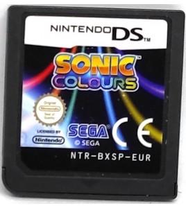 SONIC COLOURS Jeu Nintendo DS & 3DS sans Notice Games and Toys L162