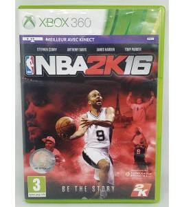 NBA 2K16 Jeu XBOX 360 avec Notice  Games and Toys