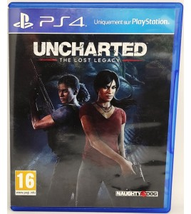 Uncharted : The Lost Legacy Jeu Playstation 4 PS4 sans Notice  Games and Toys