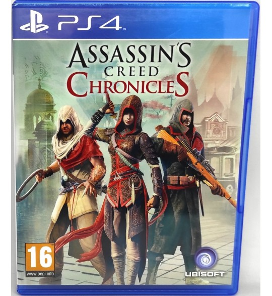 Assassin's Creed Chronicles Jeu Playstation 4 PS4 sans Notice  Games and Toys