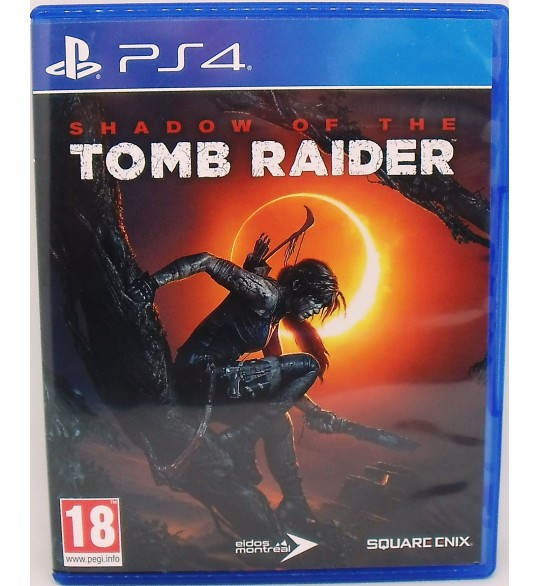Shadow of The Tomb Raider sur Playstation 4 sans Notice  Games and Toys