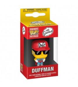 Les Simpsons porte-clés Pocket POP! Duffman 4 cm