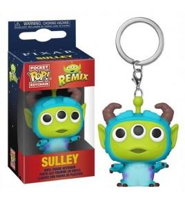 Aliens Remix porte-clés Disney Pocket POP! Sulley 4 cm