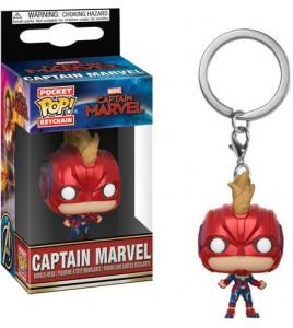 Captain Marvel porte-clés Pocket POP! Captain Marvel 4 cm