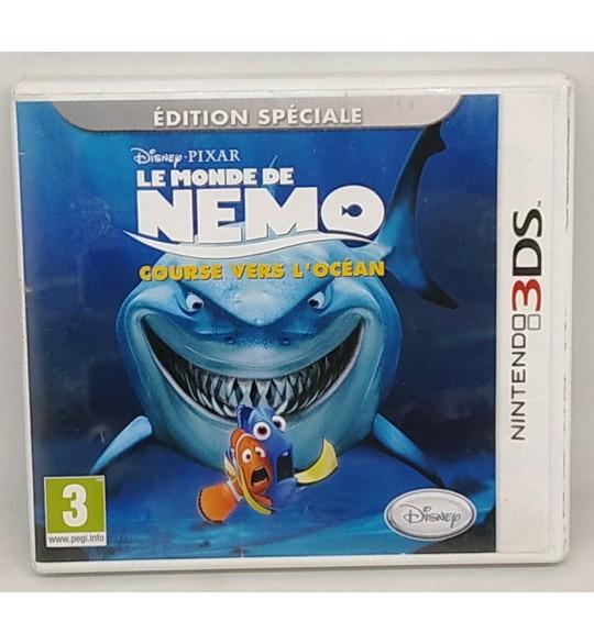 Le Monde de Némo: la course vers l'océan Jeu Nintendo 2DS & 3DS avec Notice