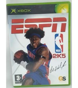 ESPN NBA 2K5 Jeu XBOX avec Notice  Games and Toys