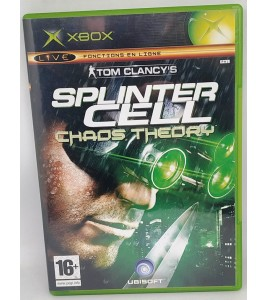 Splinter Cell : Chaos theory Jeu XBOX avec Notice  Games and Toys