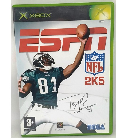 ESPN NFL 2K5  Jeu XBOX avec Notice  Games and Toys