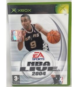 NBA Live 2004 Jeu XBOX avec Notice  Games and Toys