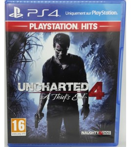 Uncharted 4  Jeu Playstation 4 sans Notice  Games and Toys