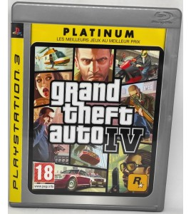 GTA IV Jeu Playstation 3 PS3 avec Notice Games And Toys