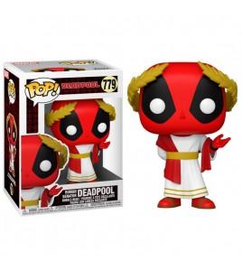 Marvel Deadpool 30th Anniversary  Pop 779 Roman Senator Deadpool 9 cm