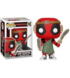 Marvel Deadpool 30th Anniversary  Pop 780 Larp Deadpool 9 cm