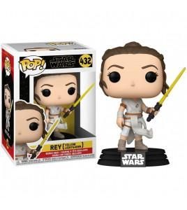 Star Wars Pop 432 Rey  Yellow Saber 9 cm