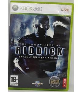 Les Chroniques de Riddick : Assault on a dark athena Jeu XBOX 360 avec Notice