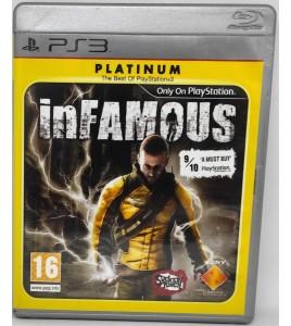 Infamous Platinum Jeu Playstation 3 PS3 avec Notice Games And Toys