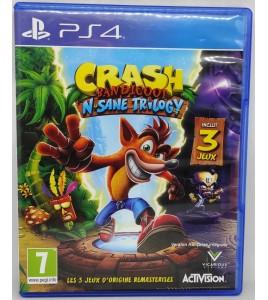 Crash Bandicoot N.sane trilogy Jeu Playstation 4 PS4 sans Notice  Games and Toys