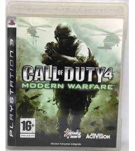 Call of Duty 4 : Modern Warfare Jeu Playstation 3 PS3 avec Notice Games And Toys