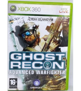 Ghost Recon : Advanced Warfighter Jeu XBOX 360 avec Notice  Games and Toys