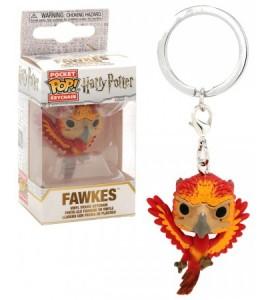 Harry Potter porte-clés Pocket POP! Fawkes 4 cm