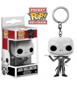 L´étrange Noël de Mr. Jack porte-clés Pocket POP! Jack Skellington 4 cm