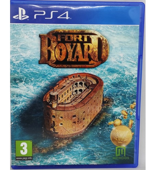 Fort Boyard Jeu Playstation 4 PS4 sans Notice  Games and Toys