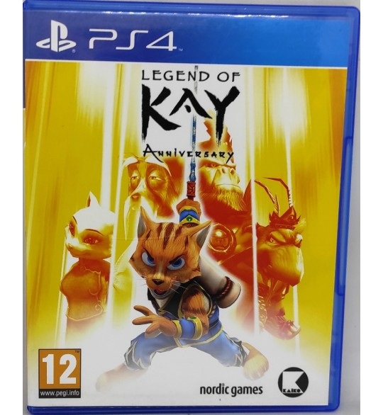 Legend of Kay Anniversary Jeu Playstation 4 PS4 sans Notice  Games and Toys