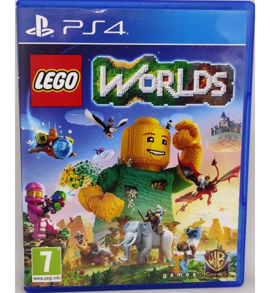 LEGO Worlds Jeu Playstation 4 PS4 sans Notice  Games and Toys
