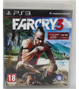 Far cry 3 Jeu Playstation 3 PS3 avec Notice Games And Toys