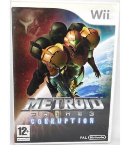 Metroid Prime 3 Corruption Jeu Nintendo Wii avec Notice  Games and Toys