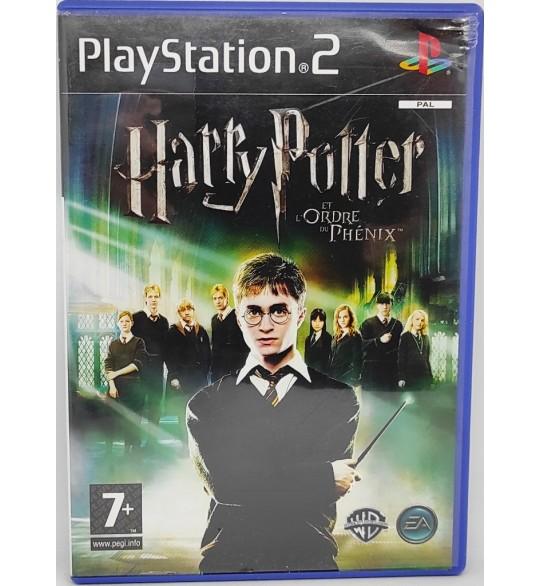 Harry Potter et l'ordre du Phénix Jeu Playstation 2 PS2 avec Notice + Carte