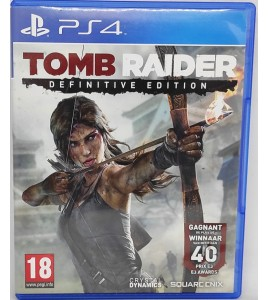 Tomb Raider - Definitive Edition Jeu Playstation 4 PS4 sans Notice