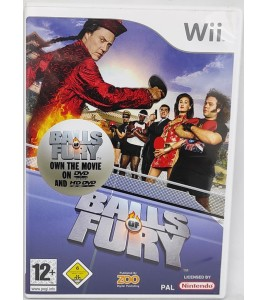 BALLS OF FURY Jeu Nintendo Wii avec Notice  Games and Toys