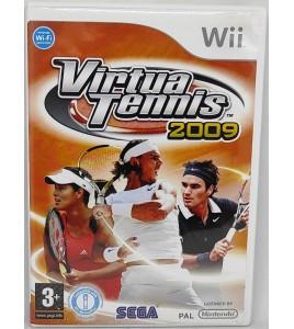 Virtua tennis 2009 Jeu Nintendo Wii avec Notice  Games and Toys
