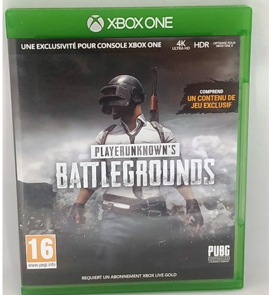 Playerunknown's Battlegrounds Jeu Xbox One sans Notice  Games and Toys