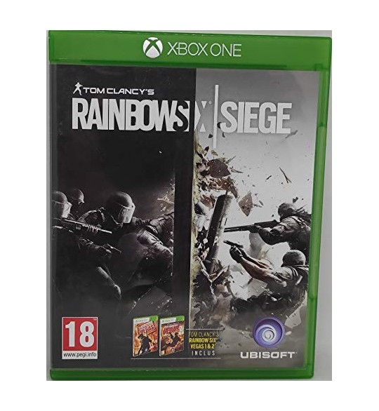 Rainbow Six : siege Jeu Xbox One sans Notice  Games and Toys