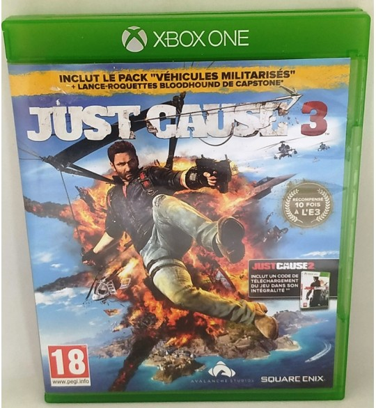 Just Cause 3 Jeu Xbox One sans Notice  Games and Toys