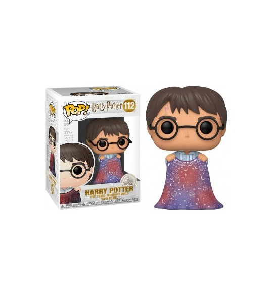 Harry Potter - Pop 112 Harry with Invisibility Cloak  9 cm