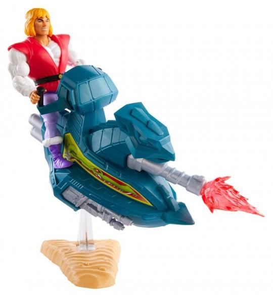 Les Maîtres de l'Univers Origins 2020, Figurine Prince Adam avec Sky Sled 14 cm