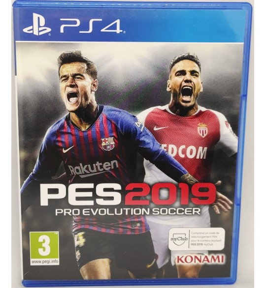 PES 2019 Jeu Playstation 4 PS4 sans Notice  Games and Toys